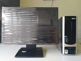 "(BL) Diwali offer Acer Desktop Set Dual Core/2GB/250GB/17""LCD/K/M Sale"