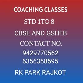 Tuition Classes Nursery to std 7th