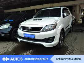 [OLXAutos] Toyota Fortuner 2014 G TRD 2.5 Diesel A/T #Berkat Prima