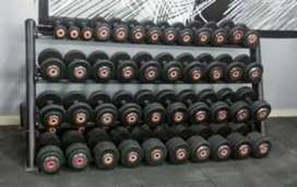 Gym set-up high class setup commercial new commercial setup just rupee