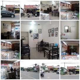 Di Sewa / Kontrakan Kios Rumah Makan di Jl.Raya Sawangan Depok
