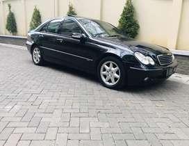 Mercedes Benz C240 Elegance 2001 mercy W203 bs tt harley goldwing