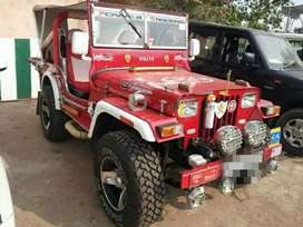 Willys modified Red painted Jeep