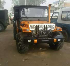 Jeep with New paint