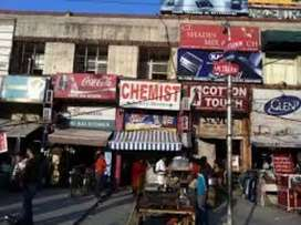 FOODCOURT shop for rent in nit 1 main market