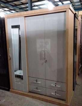 Mjb mebel- lemari 3 pintu hpl promo
