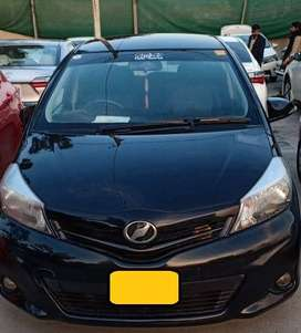 Toyota Vitz 2014 Spidey (OTHER MODELS ALSO) On Affordable Down Payment