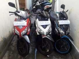 Sewa / Rental motor Denpasar Bali, khusus harian & mingguan
