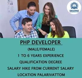 PHP DEVELOPER (MALE/FEMALE)