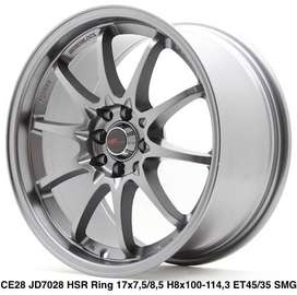 Velg hsrwheel Ring 17 pcd 4x100/114,3 model hirosima