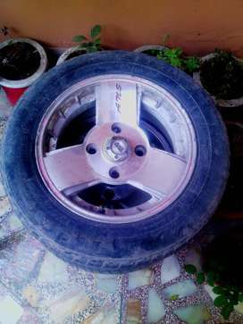 """Alloy Rims 13"""" with Tyres"""