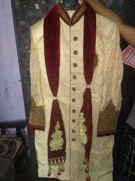 sherwani golden