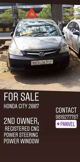 Honda city 2007 all clear cng registered