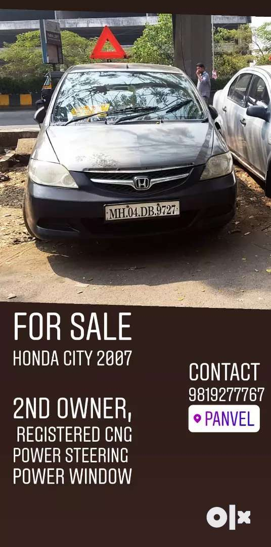 Honda city 2007 all clear cng registered 0