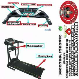 Treadmill elektrik dua fungsi murah Terlaris di bukittinggi, bisa cod