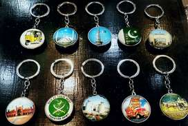 Keyrings pakistani cultural and Monuments