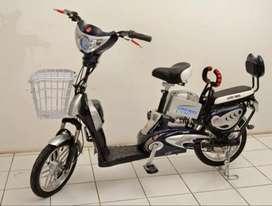 Dijual cepat sepeda listrik hemat biaya