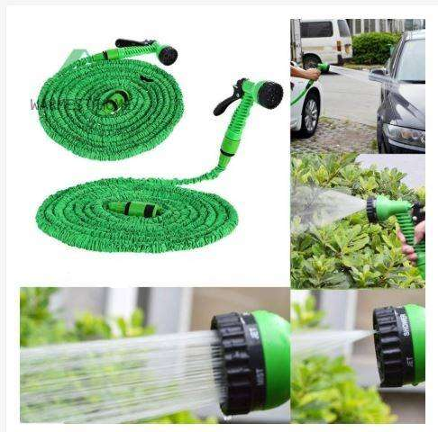 Flexible Expanding Water Hose Tube Spray Nozzle 0