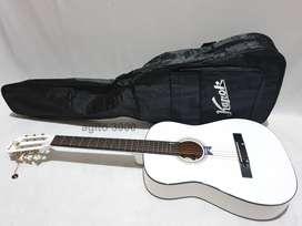 Gitar Akustik Akai Kapok MG 0104 Putih ORI