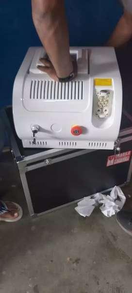 Tatoo removal laser machine