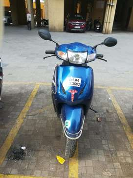 Old Activa but single owner and well maintained.