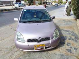 Toyota Vitz 2001, Registered in 2013 Karachi