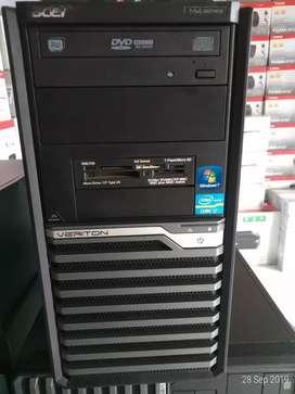 Cpu komputer built up acer i7~gen3 ram 8GB VGA 1GB NVi garansi 6 bulan