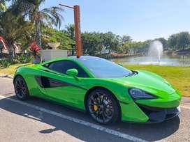 McLaren 540C 2017 MANTIS GREEN PERFFECT LIKE NEW