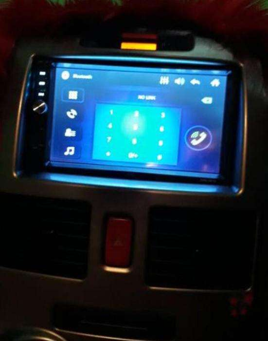 Head Unit Camry Double Din Mirror Link Bluetooth 0