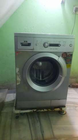 Ifb washing machine front load 6kg silver color