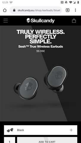 Skullcandy sesh truly wireless