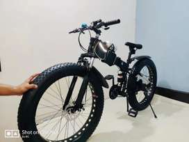 Brand new fat foldable cycle for more details call me