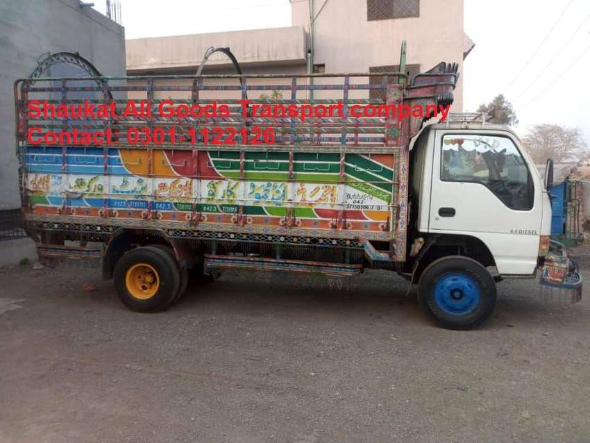 Shaukat Ali Goods Transport Company In Karachi 0