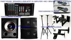 paket sound system untuk karaoke