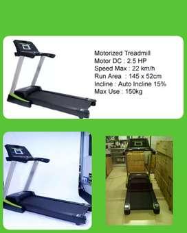 Treadmill elektrik besar murah nego sampai jadi
