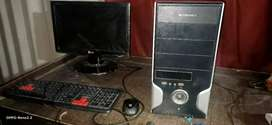 desktop ful set 2gb ram 160gb rom with led keyboard mouse