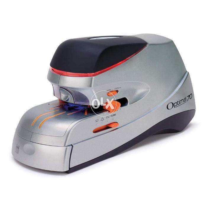 Rexel Optima 70 Heavy Duty Automatic Electric Stapler From UK 0