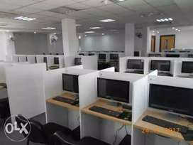 Full furnished office spase near newtown akankha more
