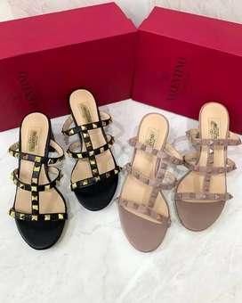 Valentino Block Sandals