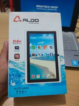 Tablet Anak Aldo T11 7 Inchi Wifi Dual Camera Fullset Lengkap