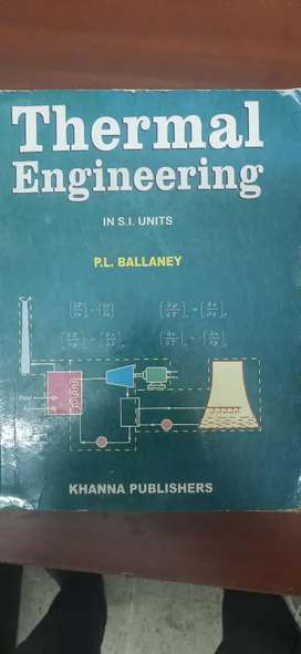 Thermal Engineering by P.L BALLANEY