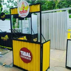 BOOTH BAZAR, BOOTH MINUMAN, CONTAINER CAFE, CONTAINER COFFEE, STAND