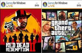GTA V and Red Dead Redemption 2