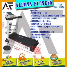 Alat Fitness Treadmill Elektrik TL 123M |Treadmill Electric Motor 3HP