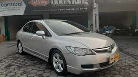 Honda Civic Batman FD 1.8 AT tahun 2007 TDP ONLY 3JT