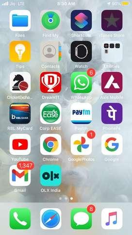 I phone 7 saaf con..