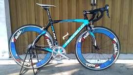 Roadbike Pinarello FP Uno Wheelset Carbon Full Upgrade
