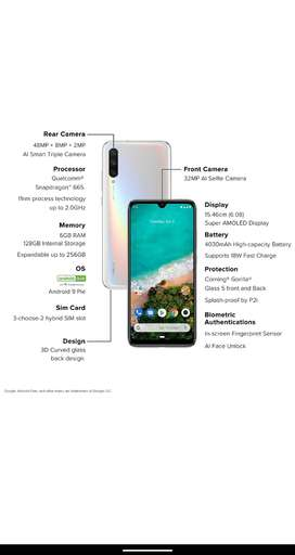 Xiaomi A3 almost one year android one phone