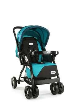 LuvLap Galaxy Stroller/Pram, Extra Large Seating Space, Easy Fold