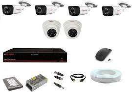 6 CCTV Camera setup installation